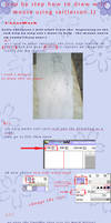 tutorial step by step how to draw with mouse 1