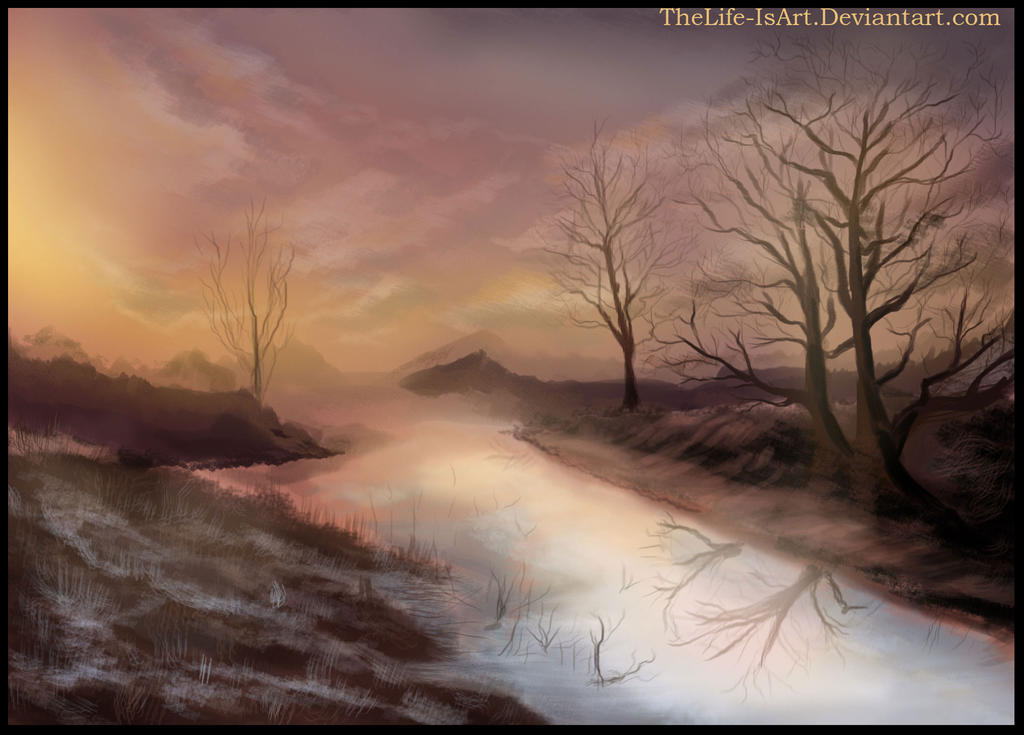nature painting by TheLife-IsArt