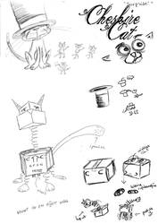 Cheshire Cat Sketches