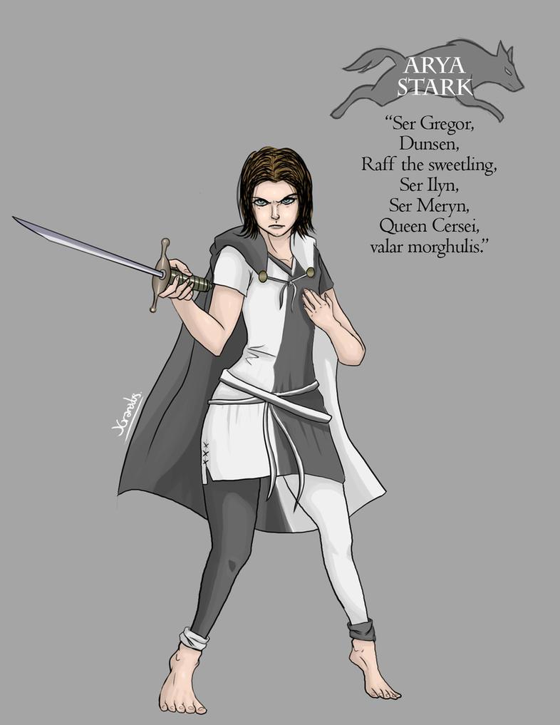 Arya Stark by Bokuchan
