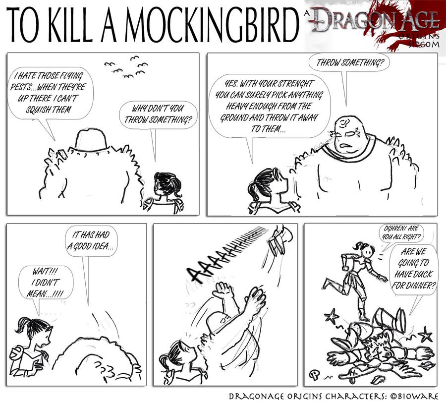 DAO To Kill A Mockingbird By SoniaCarreras