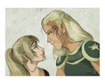 DAO: Com Lyna and Zevran