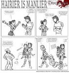 DAO: Hairier is manlier
