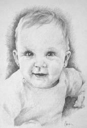 My little Daughter by Araen