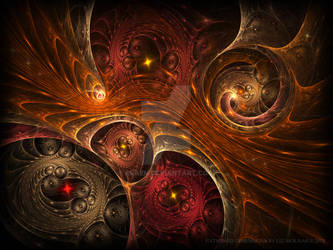 Entwined Dimensions by Araen