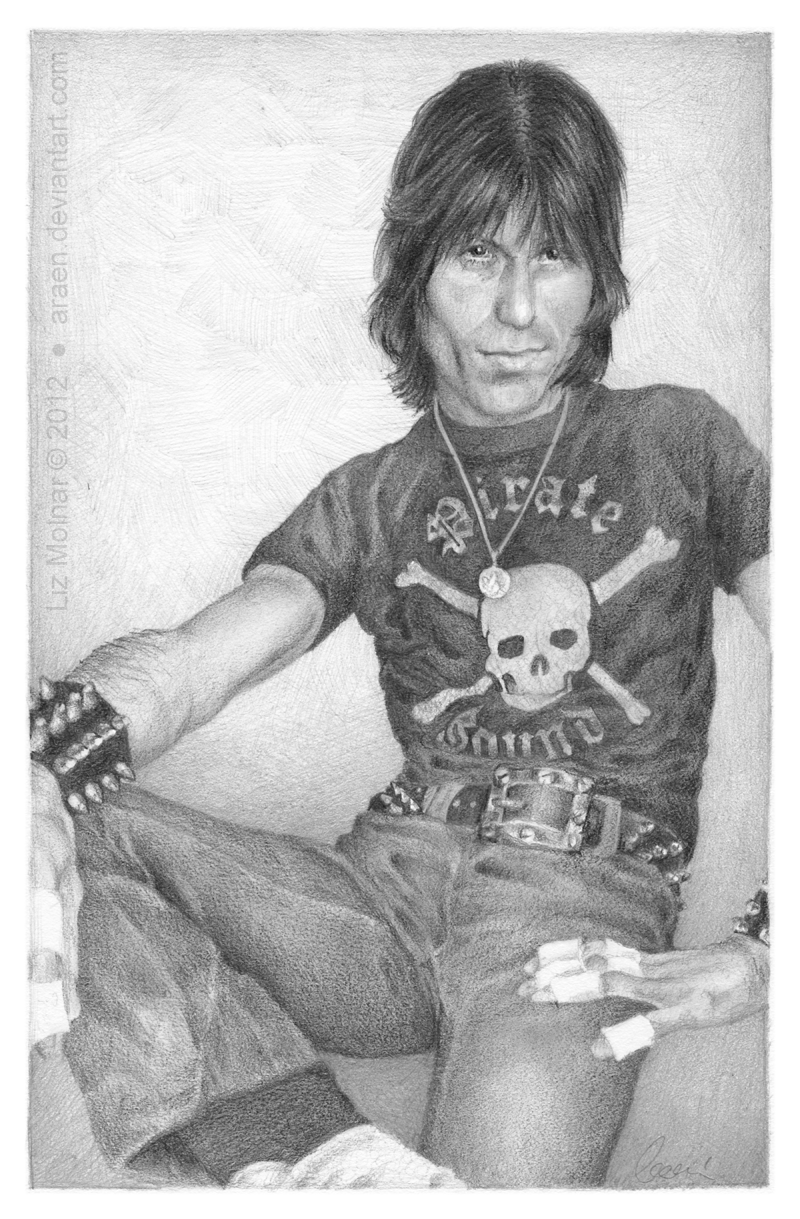 Cozy Powell by Araen