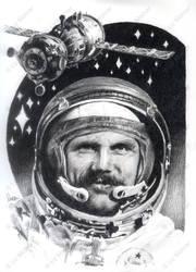 Bertalan Farkas, the only Hungarian cosmonaut by Araen