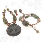 Kamorka - Hungarian Symbol Of Life Tribal Set