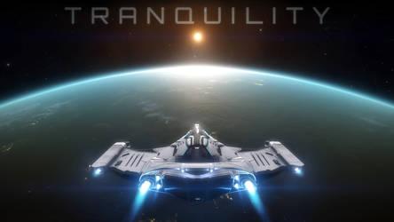 Tranquility - Elite: Dangerous wallpaper by Araen