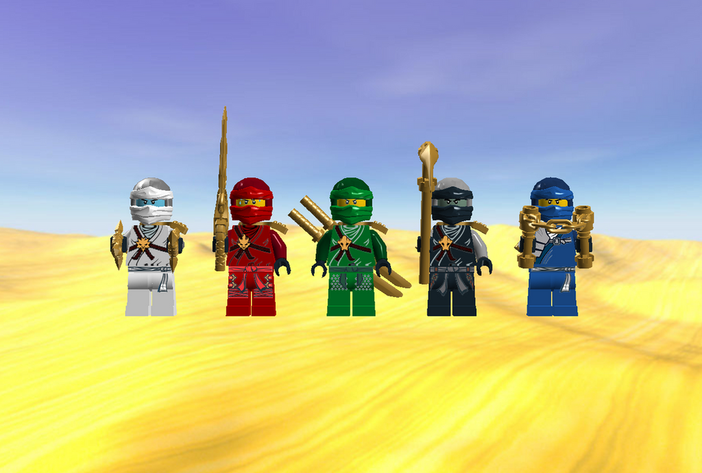Lego Ninjago Season 7 Wu Cru By Ninjagottgfanmc95 On Deviantart