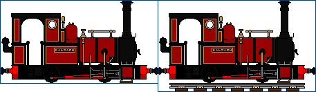 Rheilfford Talyllyn Railway No. 2 by AferVentus