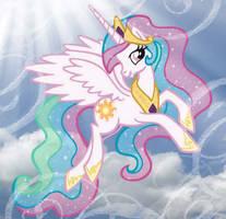 Princess Celestia by purplefairy456