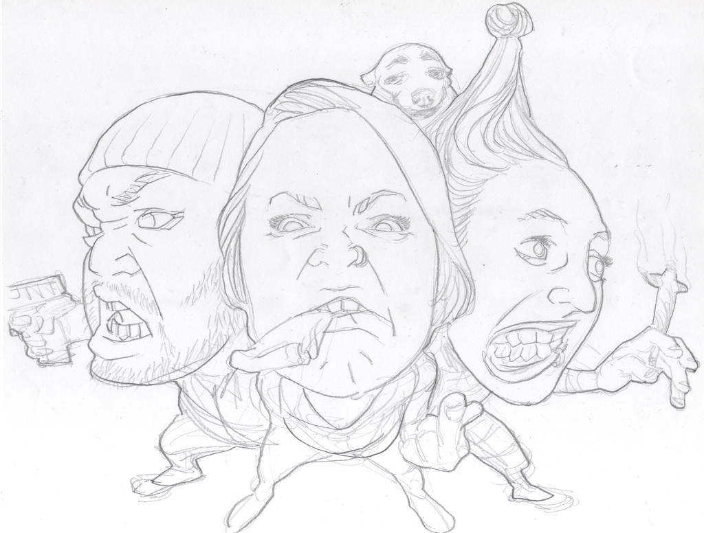 stooges by BowenJ