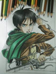 drawing Eren yeager (attack on titan)