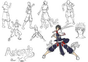Artemis and more poses by Superkenomatic
