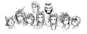 Final fantasy VII by Superkenomatic