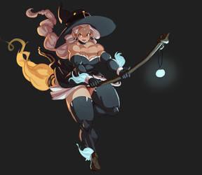 Little Witch Kana by Superkenomatic