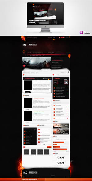 Upcoming Template 4 Gamer-Designs.de