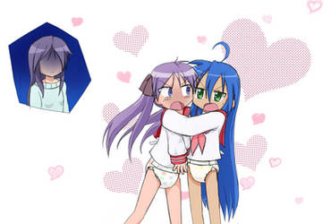 Mini Story: Lucky Star: Can't Spank Our Love by CCDPA