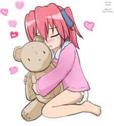 Yutaka's teddy by CCDPA