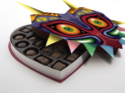 Majora's Mask: Box of Chocolates by zeldainuyashalover
