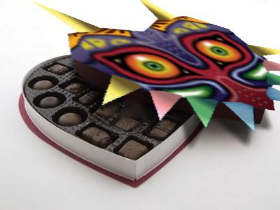 Majora's Mask: Box of Chocolates by zeldainuyashalover
