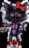 Black Cat by SpiceChickNick