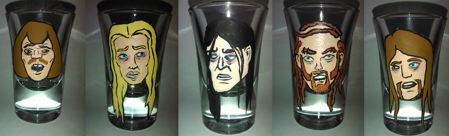 Drunkklok Shot Glasses