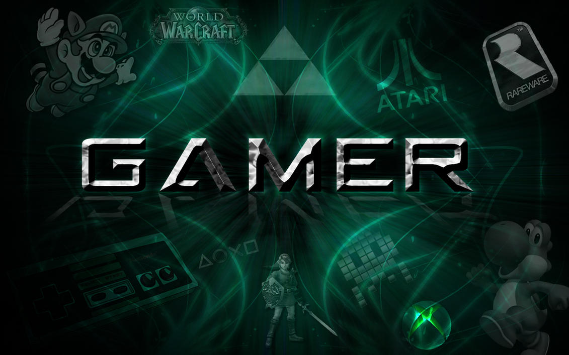 GAMER Wallpaper By Myusernamelol