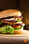 Burger-Dinner