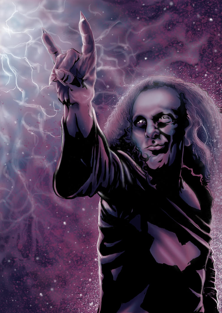 Ronnie James Dio by DimebagDarren