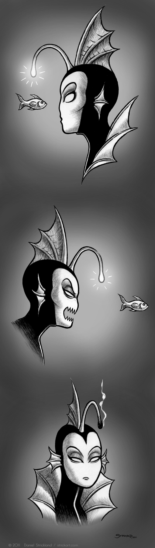 Ichthylena faces by strickart