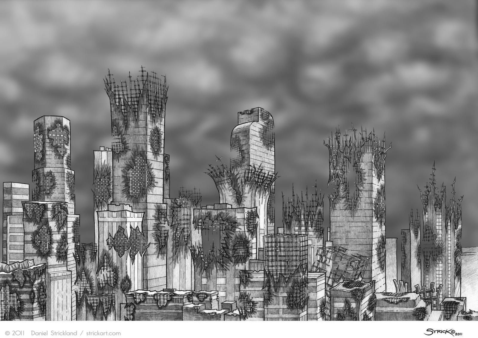 City Ruins shade by strickart