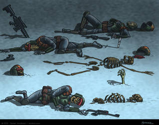 Dead Soldier Detritus by strickart