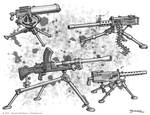 Tripod Machine Guns