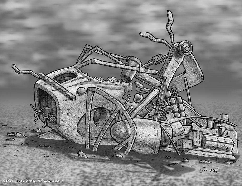 Wreckage IV by strickart