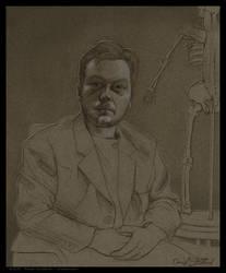 Portrait of Hatton Slayden by strickart