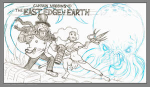 Captain Nobbins rough pencils by strickart