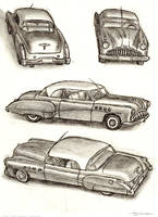 Buick sketch by strickart