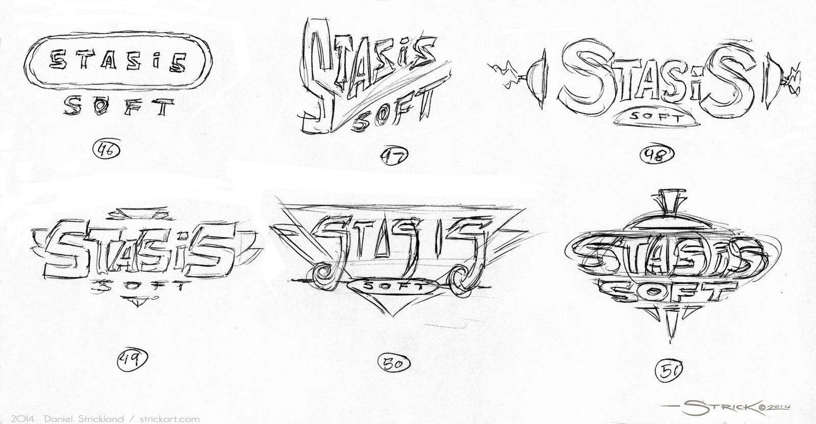 Logo Sketches 4 by strickart
