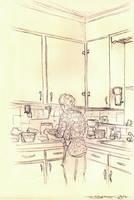 Mawmaw Robicheaux's Kitchen by strickart