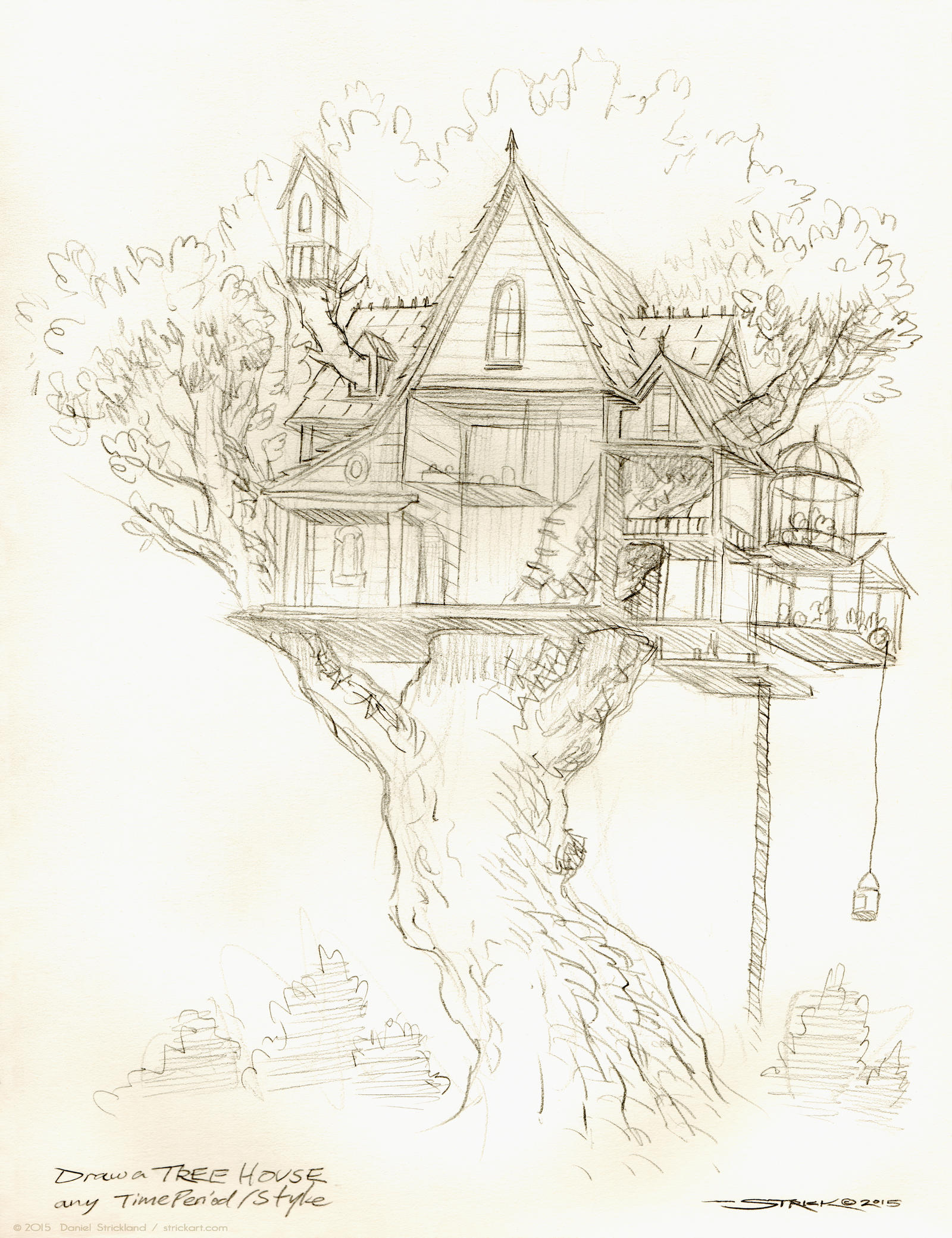Treehouse by strickart