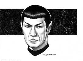 Spock by strickart