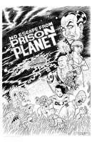 Prison Planet cover WIP 4 by strickart