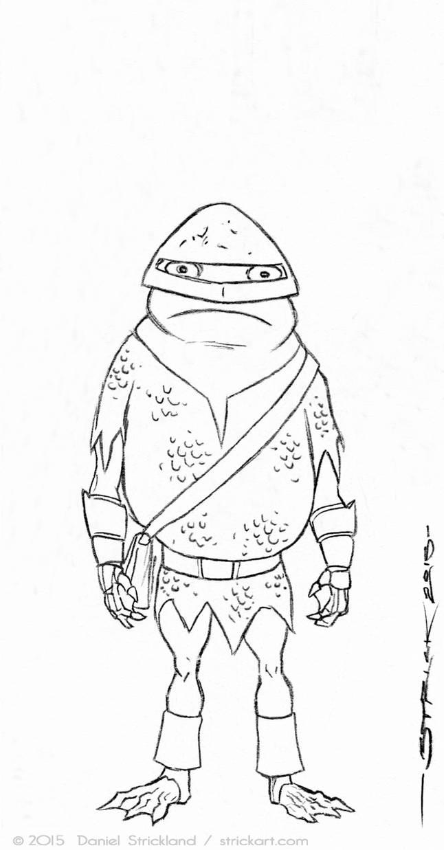 Frog General sketch 1 by strickart