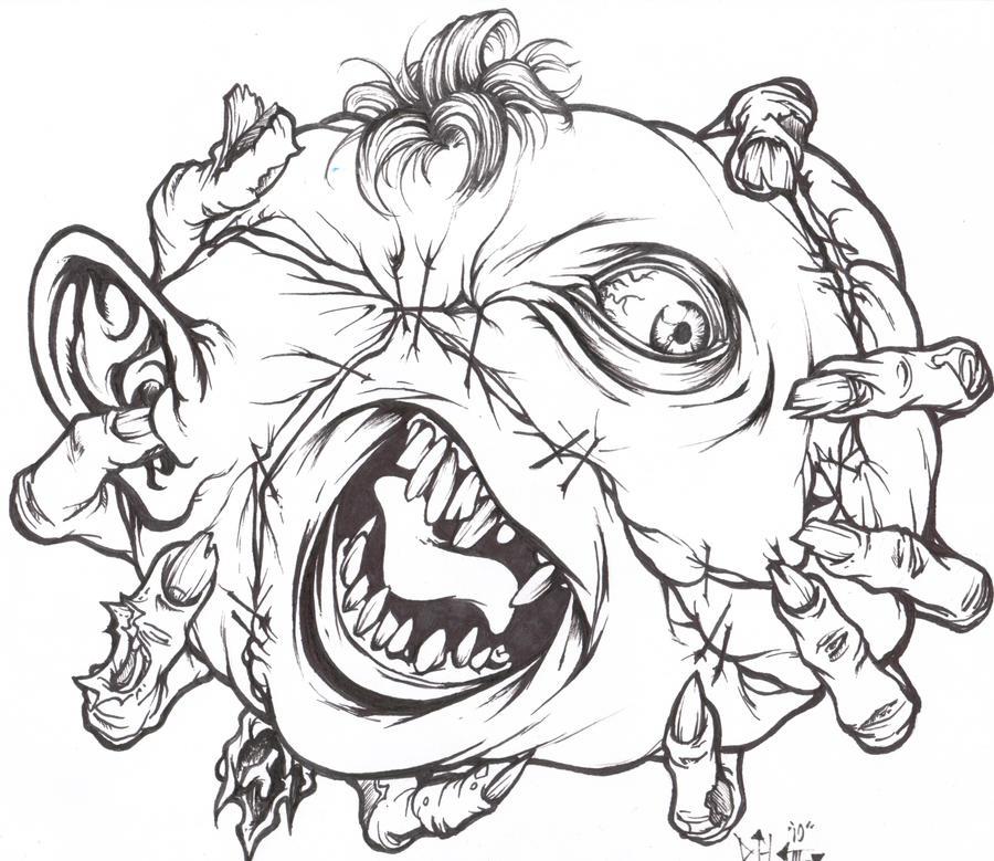 insane clown posse coloring pages - photo#13