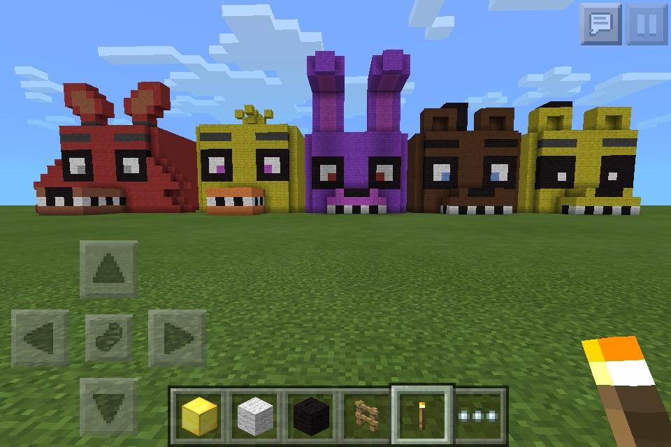 Fnaf Minecraft Houses By Brutes4babes On Deviantart