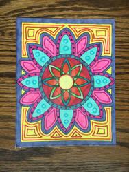 Mandala Postcard