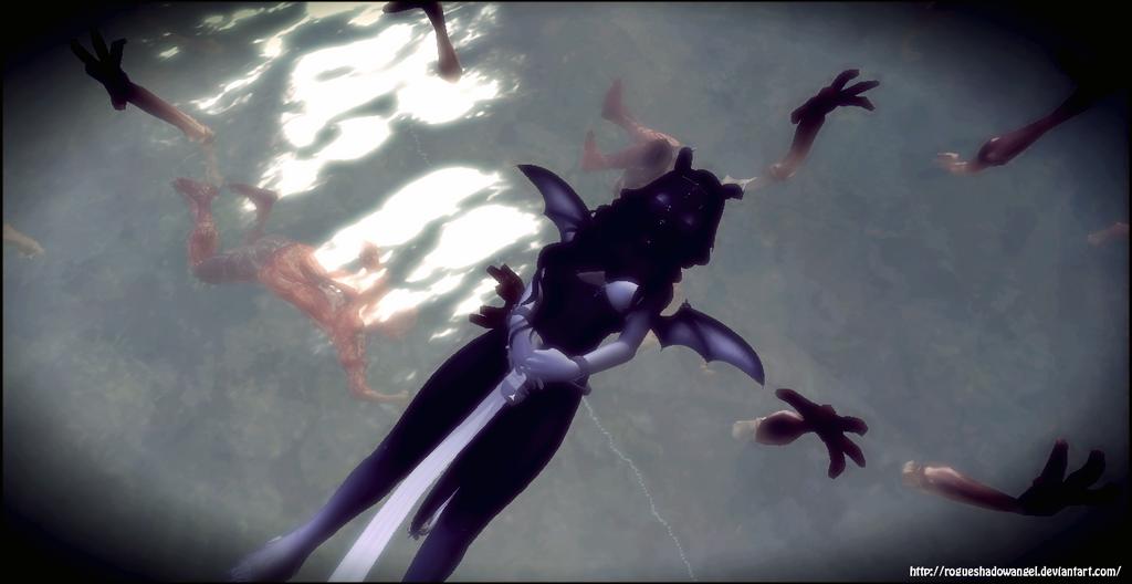 Death Grabs At You by RogueShadowAngel