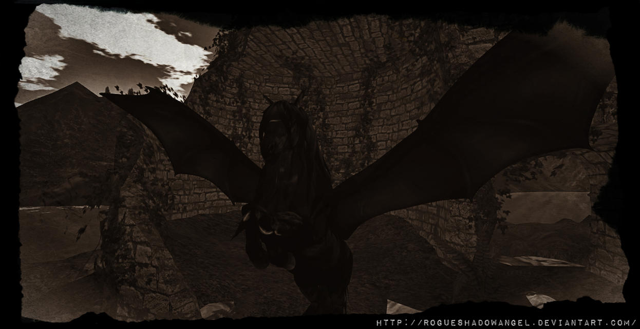 The Ruins by RogueShadowAngel
